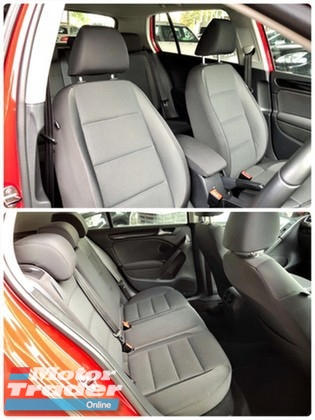 2013 VOLKSWAGEN GOLF 1.4 (A) TSI NEW FACELIFT MODEL SUNROOF LED DAY LIGHT GOOD CONDITION TIP TOP