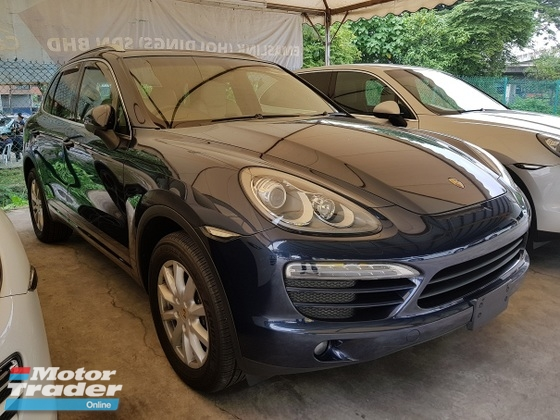 2011 PORSCHE CAYENNE 3.6 Electric Seat back Camera Power Boot Unregistered