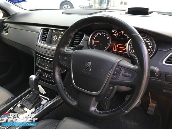 2015 PEUGEOT 508 1 LADY OWNER  TIPTOP CONDITION