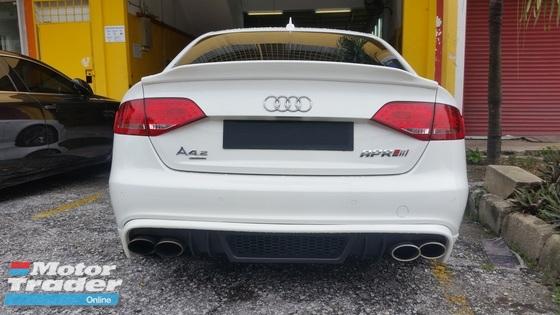 Audi A4 S4 A5 S5 B8 B8.5 Fiber Boot Spoiler  Exterior & Body Parts > Car body kits