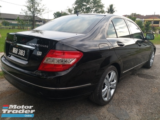 2009 MERCEDES-BENZ C-CLASS C200 KOMPRESSOR AVANTGARDE 1 DOCTOR OWNER TAKING CARE CAR WELL LIKE NEW CONDITION