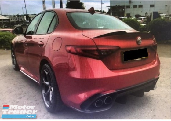 2017 ALFA ROMEO GIULIA 2.9 V6 TWIN TURBO