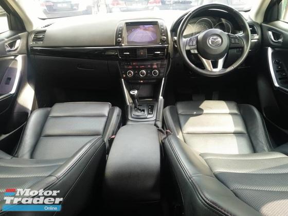 2016 MAZDA CX-5 2.5L 2WD SKYACTIV (A) FULL SPEC
