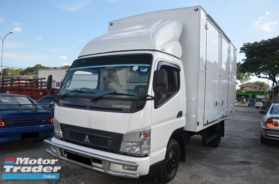 2011 Mitsubishi Fuso FE83PE Box Van Bonded Aluminium, Resak Floorboard, Green Engine, 5000kg, 14ft, 3.9CC, Turbo Intercooler