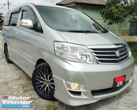 2003 TOYOTA ALPHARD  3.0 (A) MZG FACELIFT 2 POWER DOOR 8SEAT