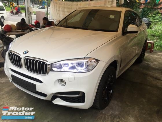 2016 BMW X6 3.0 50D NO GST Unregister