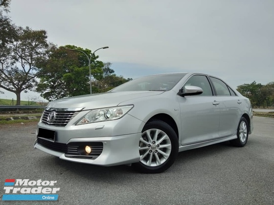 2012 TOYOTA CAMRY 2.0G (A) FULL SERVICE RECORD