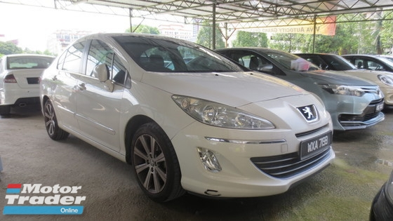 2012 PEUGEOT 408 1.6 (A) TIP TOP CONDITION