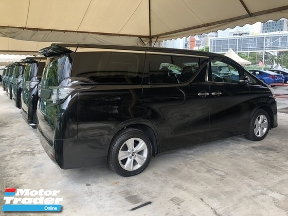 2016 TOYOTA VELLFIRE 2.5 Dual VVT-i 7 SCVT-i 4 Surround 360 View Camera Automatic Power Boot 2 Power Doors Intelligent Bi LED Lighting System Smart Entry Push Start Button Multi Function Steering 3 Zone Climate Control 9 Air Bag Unreg
