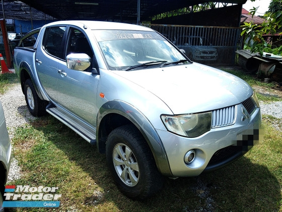 2008 MITSUBISHI TRITON 2.5 L200 FULL Spec(AUTO)2008 Only 1 Careful UNCLE Owner, 92K Mileage, TIPTOP, ACCIDENT-Free,NEGOTIABLE with FULL Spec & AIRBEGs