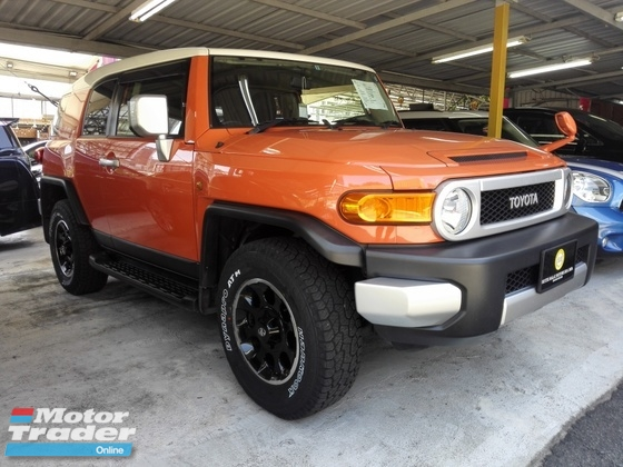 2014 TOYOTA FJ CRUISER (PRICE WITH SST)