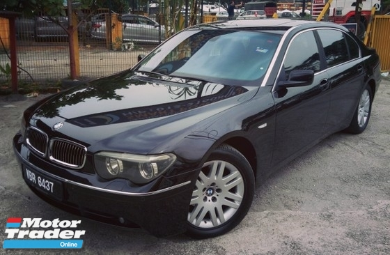 2004 BMW 7 SERIES 735LI 3.6 (A) (CBU)/CAREFULL OWNER/ACC FREE/ RUNNING CONDITION/ NO REPAIR NEEDED/ SERVICE UP TO DATE