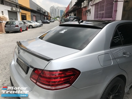 Mercedes Benz W212 Carbon Boot Spoiler  Exterior & Body Parts > Car body kits