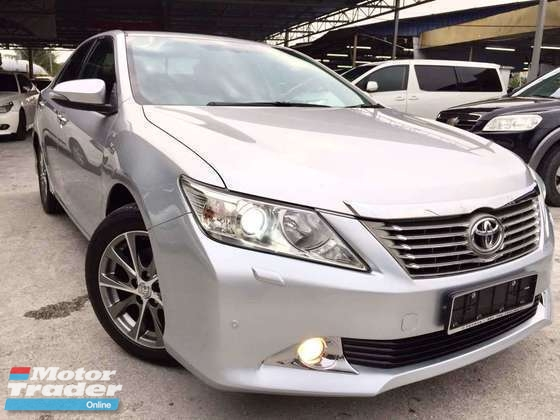 2016 TOYOTA CAMRY 2.5 V (A)1 OWNER MALAY PREMIUM LUXURY FUL SPEC