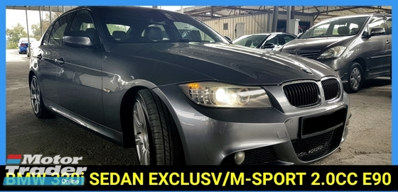2010 BMW 3 SERIES 320I SEDAN EXCLUSV/M-SPORT E90