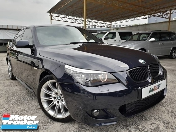 2008 BMW 5 SERIES REG 11 BMW 525I 3.0  M-SPORTS (A) E60 LCI PROMOTION PRICE \