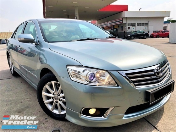 2011 TOYOTA CAMRY 2.0 (A) G NEW FACELIFT MODEL TIP TOP CONDITION FULL LOAN