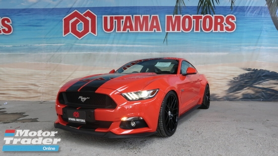 2016 FORD MUSTANG 5.0 GT COUPE BORLA EXHAUST SPORT SPRING