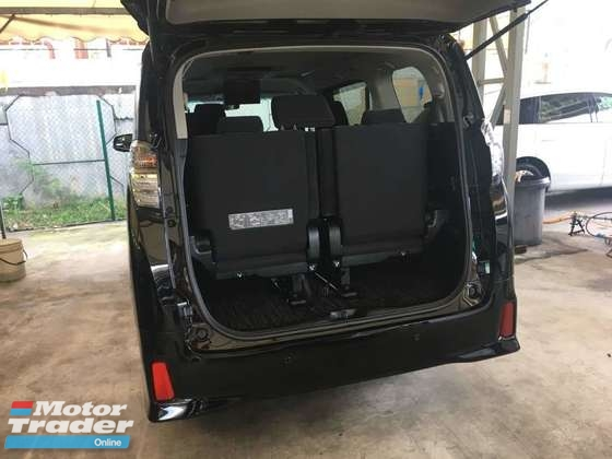 2016 TOYOTA VELLFIRE 2.5ZA Edition (ACTUAL YEAR MAKE 2016) NO HIDDEN CHARGES