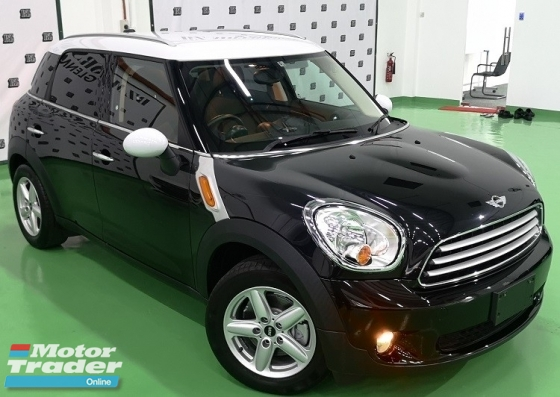 2014 MINI Countryman 2014 MINI COUNTRYMAN 1.6A JAPAN SPEC UNREG SELLING PRICE ( RM 108000.00 NEGO )