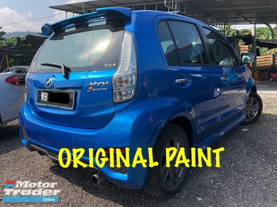 2016 PERODUA MYVI ORIGINAL ADVANCE SPEC WITH LOW MILEAGE