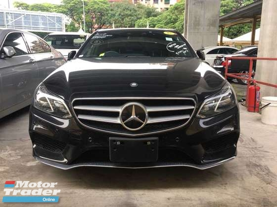 2013 MERCEDES-BENZ E-CLASS E250 AMG JAPAN SPEC (ACTUAL YEAR MAKE 2013) NO HIDDEN ANG GST CHARGES