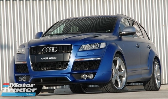 Audi Q7 PPi Widebody Bodykit Conversion Exterior & Body Parts > Car body kits