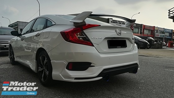 Honda Civic FC type R spoiler ABS  Exterior & Body Parts > Car body kits