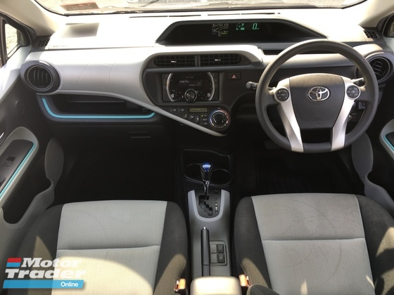 2012 TOYOTA PRIUS C 1.5 HYBRID FUL TRD SPORTIVO BODYKIT ONE OWNER FULL SERVICES RECORD BY UMW