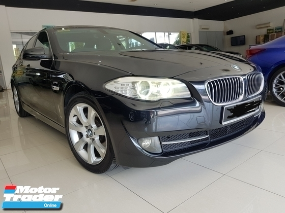 2010 BMW 5 SERIES 528I HI-LINE JAPAN SPEC CBU REGISTER 2013