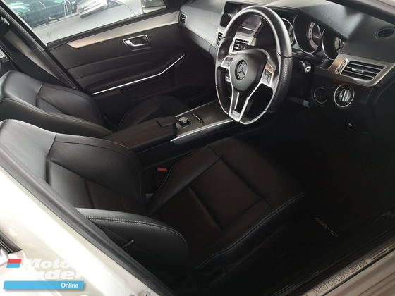 2014 MERCEDES-BENZ E-CLASS E200/AMG/PANORAMIC ROOF /UNREG