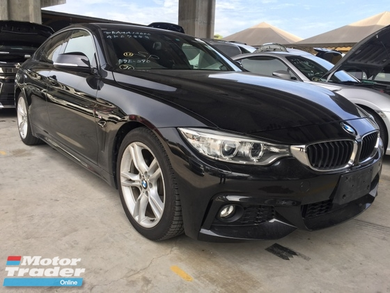 2015 BMW 4 SERIES 420i Grand Coupe ZERO GST Unregister