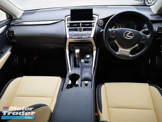 2015 LEXUS NX NX200T IPACKAGE BEIGE LEATHER SEAT UNREGISTERED