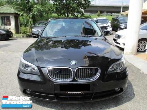 2006 BMW 5 SERIES  523i 2.5 (A)