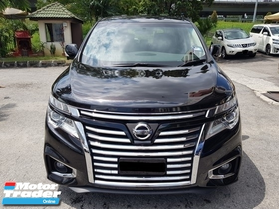 2014 NISSAN ELGRAND 3.5 Highway Star CBU (A)