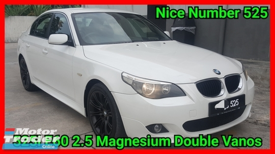 2010 BMW 5 SERIES 525i E60 M-Sport Double Vanos CBU Excellent Condition Cash Only