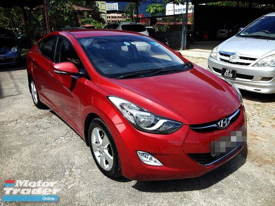 2012 HYUNDAI ELANTRA 1.6 GLS FULL Spec(AUTO)2012 Only 1 CIKGU Owner, 70K Mileage, TIPTOP, ACCIDENT-Free, DIRECT-Owner. NEGOTIABLE with FULL Spec