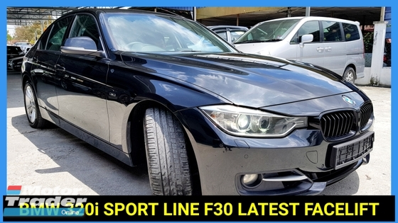 2014 BMW 3 SERIES 320I SPORT EDITION F30 LOCAL NICE NUMBER PLATE