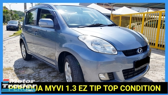 2009 PERODUA MYVI 1.3 EZ ACCIDENT FREE TIP TOP