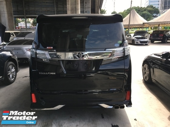 2015 TOYOTA VELLFIRE Unreg Toyota Vellfire 2.5 ZA 7seather 360view Cam Keless Powerboot 7G