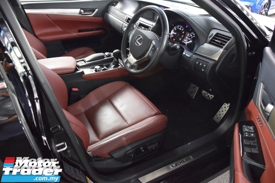 2013 LEXUS GS FSPORT BROWN LEATHER NO GST