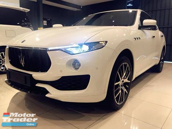 2017 MASERATI OTHER LEVANTE 3.0 DIESEL GRANSPORT VERSION LUXURY PACK RED INTERIOR