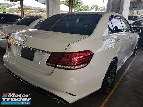 2013 MERCEDES-BENZ E-CLASS E250 AMG Sport Package Unregistered