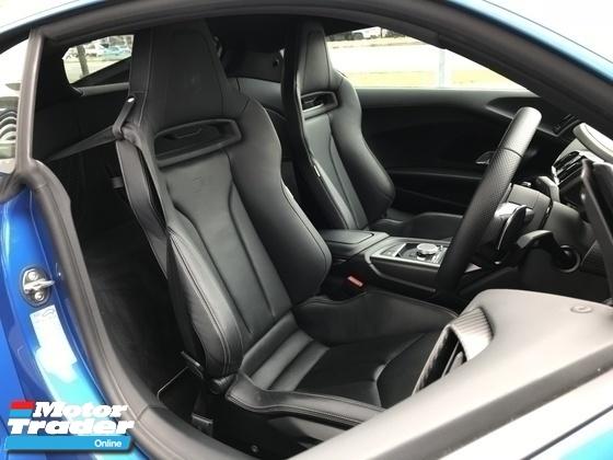 2017 AUDI R8 AWD 5.2 V10 PLUS UNREG BEAST BLUE COUPE UK
