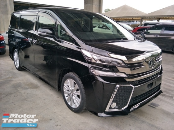 2015 TOYOTA VELLFIRE 2.5 Z 8 SEATER POWER BOOT 360 VIEW CAMERA PRE CRASH STOP SYSTEM