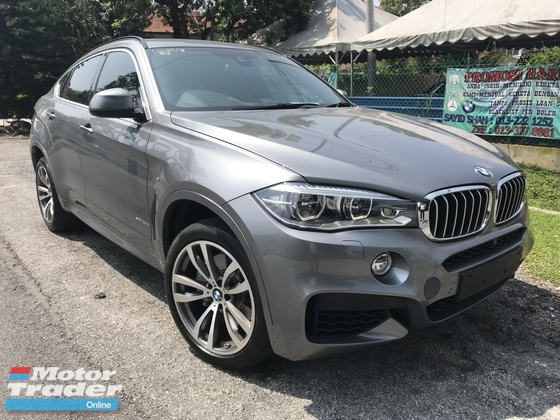 2015 BMW X6 4.4 X DRIVE BO SOUND REAR ENTERTAINMENT FULL FULL SPEC UK NEW UNREG