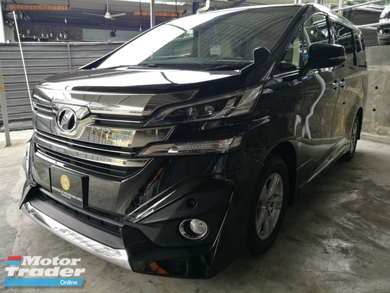 2016 TOYOTA VELLFIRE TOYOTA VELLFIRE 2.5 X SPEC CHEAPEST IN TOWN MANY UNIT CHOOSE UNREG 16