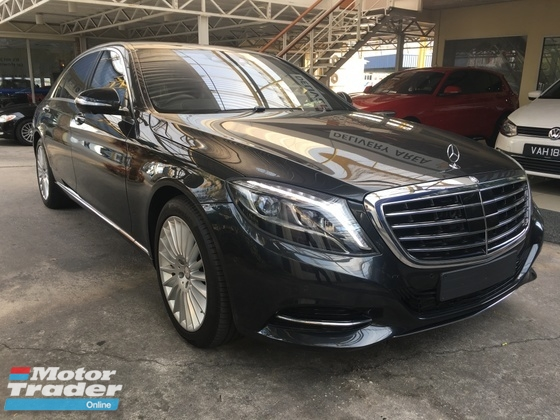 2013 MERCEDES-BENZ S-CLASS S500 LONG SPECIAL EDITION UK 4.7 (A)