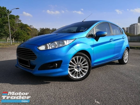 2014 FORD FIESTA 1.5L SPORT (A) NEW FACELIFT UNDER FORD SERVICE RECORD