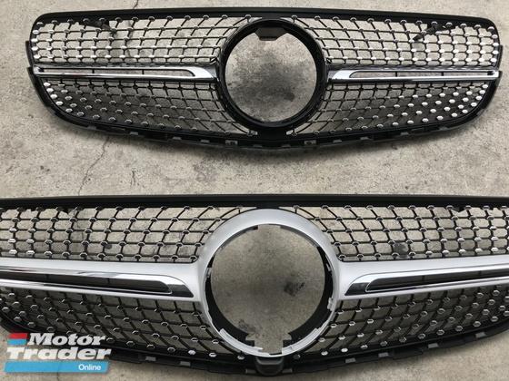 Mercedes Benz GLC Grill GLC63 GLC43 Grille  Exterior & Body Parts > Car body kits